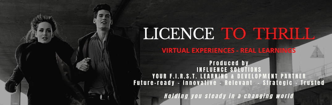 Licence To Thrill - The Ultimate Team Bonding Experience
